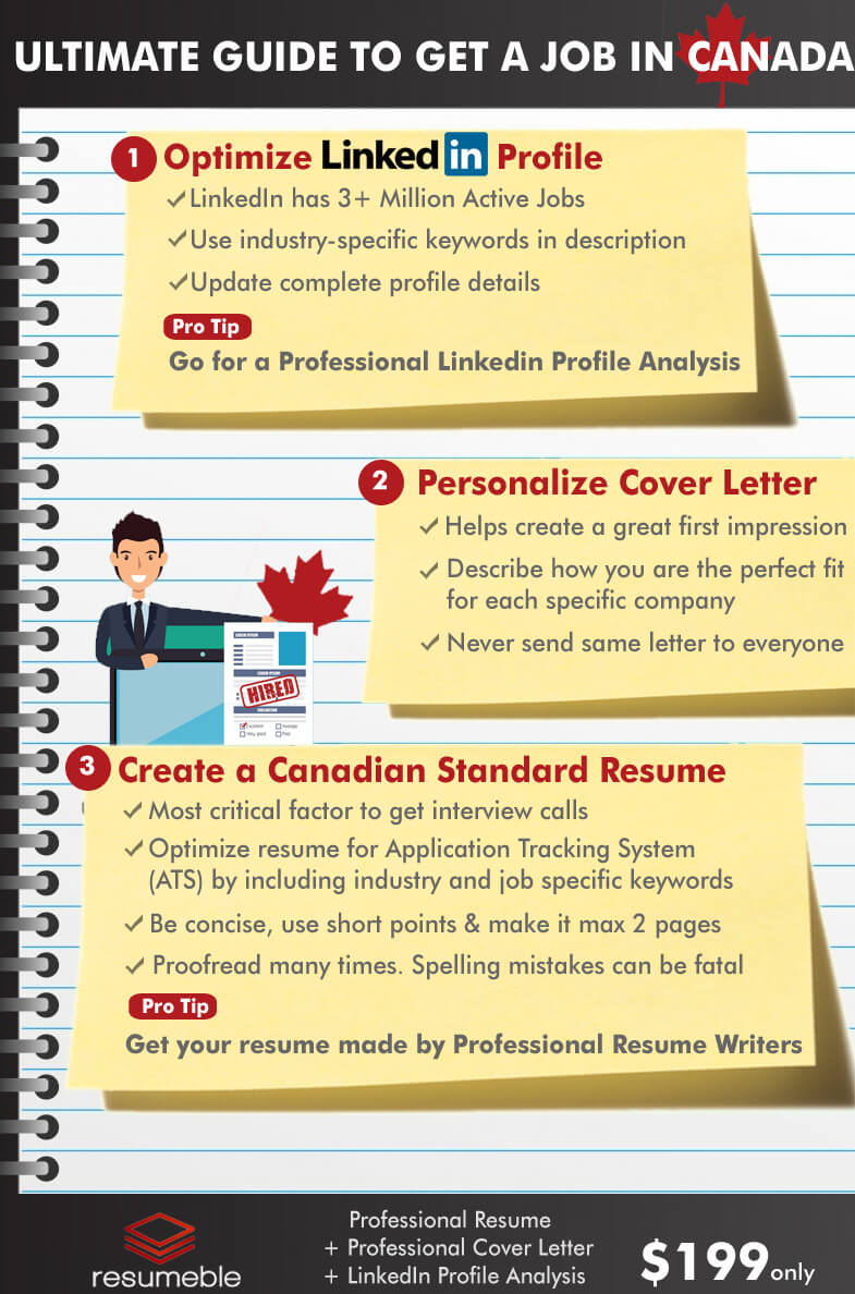 Complete Guide How To Get A Job In Canada From Asia Resumeble