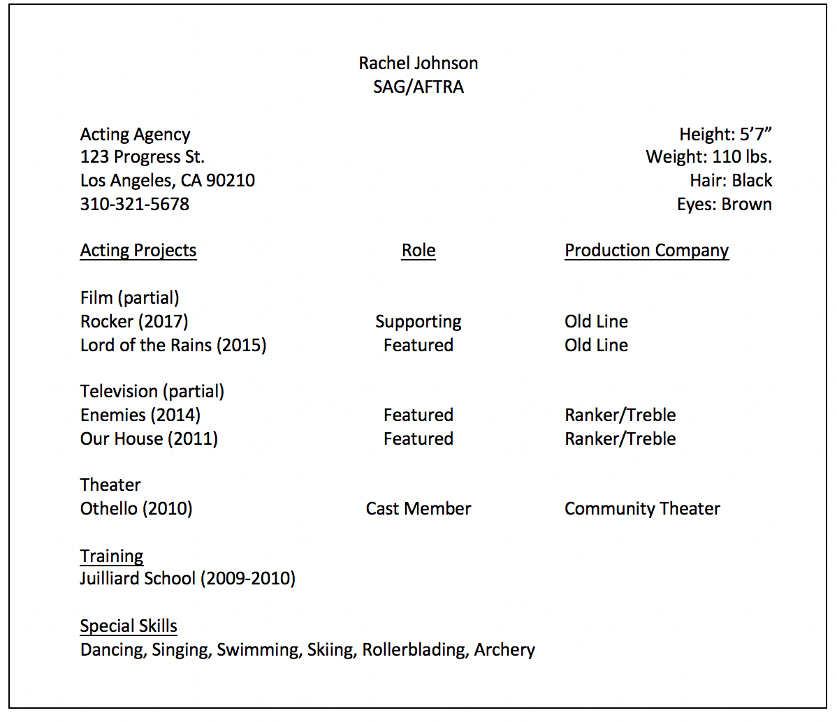 Different Format Of Resume For Landing A Job Resumeble