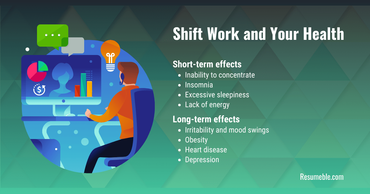 negative impacts of shiftwork and long work hours
