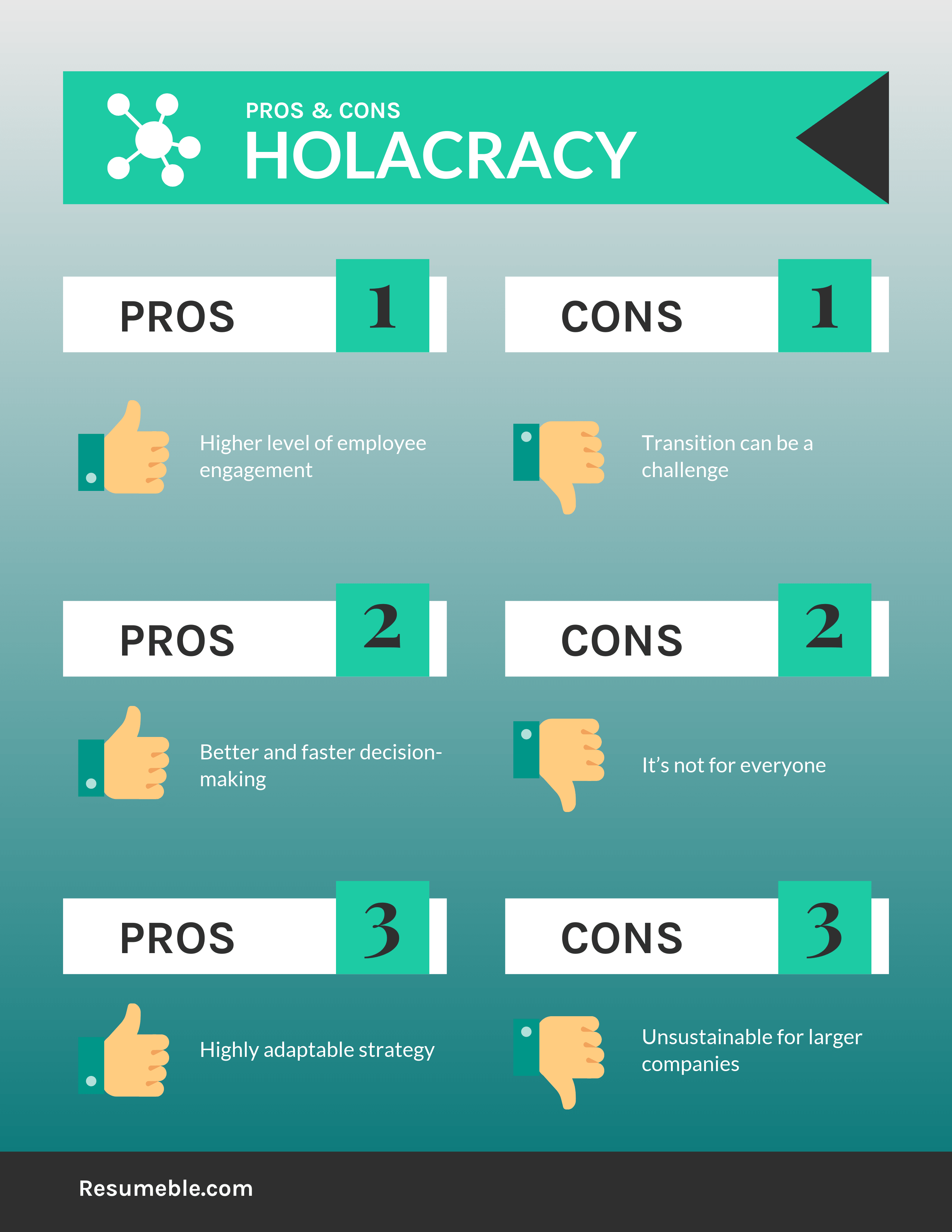 holacracy pros and cons